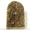 Heavy-weigth Ethiopian Marble Stone Icon